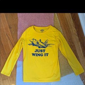 ✈️ Oshkosh B'Gosh Just Wing It Jet Shirt 10/12